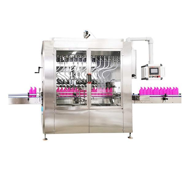 Gravitatsiooni tüüpi nurga kaelaga pudeli vedeliku täitmise masin
