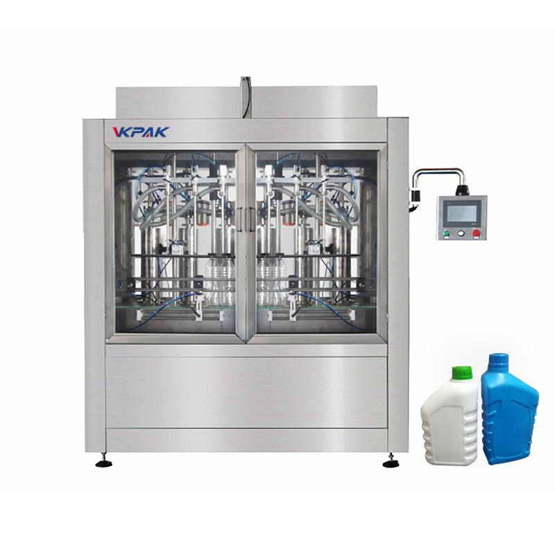 Automaatne pudelite ja vedelike täitmise masin
