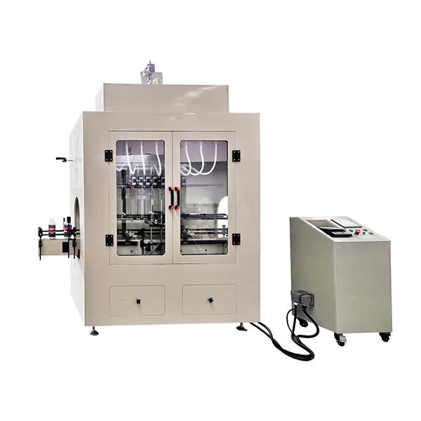 Lineaarse tüübi söövitav vedeliku täitmise masin