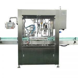 Automaatne tilguti pudeli täitmise ja korgistamise masin