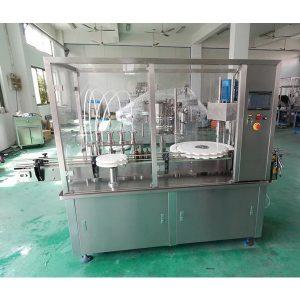 Automaatne suukaudse vedeliku siirupi täitmise ja korgistamise masin
