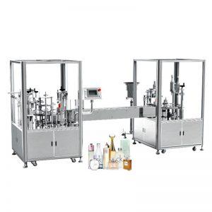 Automaatne parfüümi täitmise ja korgistamise masin
